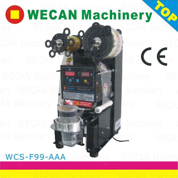automatic sealing machine boba